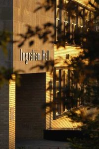 Ingraham Hall Entrance