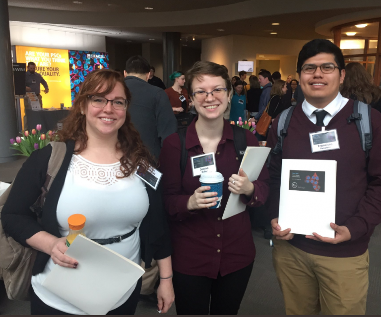 CeO students at the 2019 Annual Stem Cell Symposium